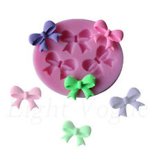 Bow Silicone Fondant Mould Cake Decorating Chocolate Baking Mold Bowknot Tool