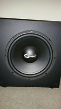 12 Inch Powered Sub Woofer Pro-Connect PCTSW100- DeepSolid Bass-Home Theater