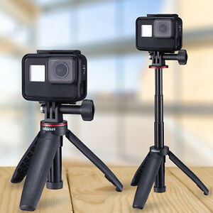 Action Camera Mount Handle Selfie Stick Pole Tripod For GoPro Hero 8 Black/OSMO