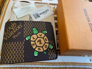 Louis Vuitton N60396 LV2 Multiple Wallet Nigo & Virgil Abloh TURTLE SOLD OUT