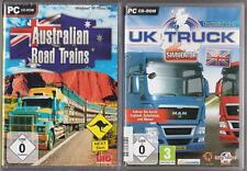 Australian Road Trains Truck LKW + UK TRUCK SIMULATOR Sammlung PC