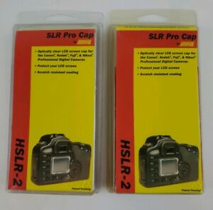 New Set of 2 Hoodman SLR Pro Cap Kit For HSLR-2 Camera - Free Shipping