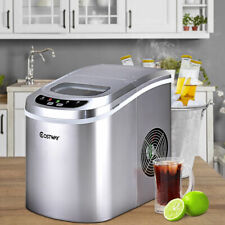 Portable Compact Electric Ice Maker Machine Mini Cube 26lb/Day Sliver New