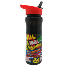 174abf3e3a Official Marvel Avengers Comic Flip Top Plastic Drinking Sports Water Bottle