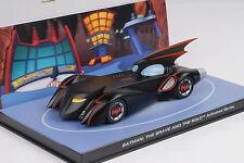 Movie Car Batman Batmobil The Brave and the Bold Animated Comics Modell 1:43
