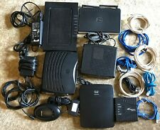 Motorola, Arris, Cisco, Westell... - Modems, Routers, Power Supply, Cables Lot