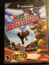 Mario Superstar Baseball (Nintendo GameCube, 2005) See Description Collectible!