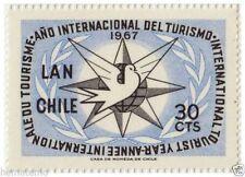 Chile 1967 #715 Año Internacional del Turismo MNH