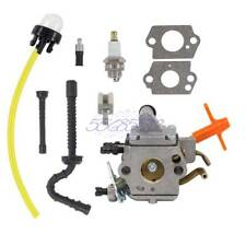 Carburetor For Stihl MS192 MS192T MS192TC Chainsaw Zama C1Q-S258 Carb Fuel Tube
