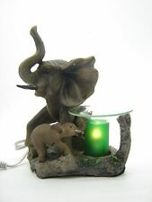 Elephants Burner Wax Tart Oil Candle Warmer Electric Polyresin