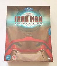 Marvel Iron Man 1-3 Complete Collection Blu-ray Box Set NEW & Sealed
