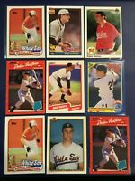 1989 1990 1991 Topps Fleer UD Score ROBIN VENTURA ROOKIE RC Lot 12 White Sox WOW