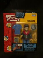 2003 Playmates The Simpsons MR PLOW HOMER Figure WOS Series 12 NIB!