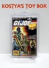 GI Joe Cobra CROC MASTER 1987 MOC Hasbro Vintage Factory Sealed Action Figure