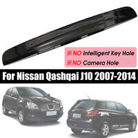 NO Key&Camera Hole Rear Tailgate Boot Lid Handle For Nissan Qashqai J10