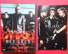 dvd bee gees live by request barry gibb maurice gibb robin gibb massachusetts id