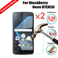 2Pcs 9H Premium Tempered Glass Screen Film Protector For Blackberry Cell Phone