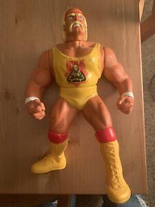 "WWF Hasbro 1990 Vintage 12"" Talking Hulk Hogan Action Figure Doll *No String WWE"