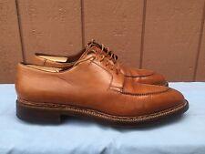 EUC Santoni Limited Edition Handmade Bentivegna Split Toe Derby Brown 11.5 D