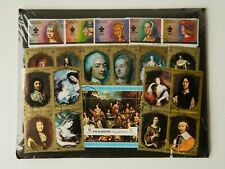 Kings and Queens of France Stamp Collection, SEALED PACKET 20 Different Stamps