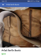 Darlin Ariat Boots small size 9