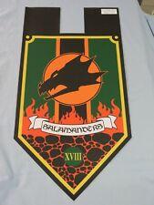 Warhammer 30K Salamanders Legion Small Banner