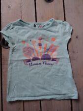 T-shirt Manches courtes turquoise imprimé bonbons NKY Taille 4 Ans / 104 cm