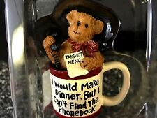 """New in Box Boyds Bear The Razz-Bearies """"Carrie Out"""" Make Dinner cant Phonebook"""