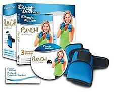 Weight Watchers Punch 3 Workouts Fitness DVD 2012 mit gewichteten Handschuhe NEU