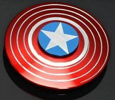🔴NEW METAL Capitan America Fidget Spinner USA Seller New