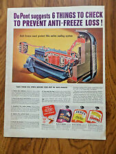 1943 Du Pont Zerone Zerex Anti-Freeze Ad