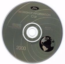 FORD - 2000 Car Service Information CD - Mustang - Focus - Taurus - Sable   15.0