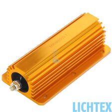 24V 100W 10 Ohm CAN-Bus Beleuchtungsfehler Wiederstand Leistungswiderstand NEW