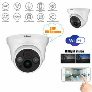 Sricam SH030 1296P WiFi HD Night Vision Outdoor CCTV Network Security IP Camera