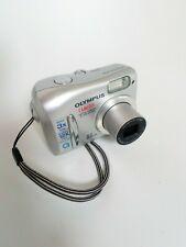 Olympus CAMEDIA 370 Zoom 3.2MP Digital Camera - Silver