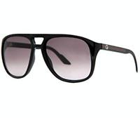 GUCCI Square Men Sunglasses GG 1018/S Shiny Black Grey BILEU