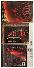 Warrior Kings Battles Pc Brand New Sealed with New 46 Page Manual & Map Win10 XP