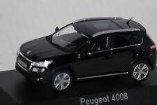 Peugeot 4008 2012 schwarz 1:43 Norev neu & OVP 474802