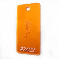 "(1) ORANGE #2422 12""x12""x1/8"" Acrylic Sheet Plastic Plexiglass Craft Supply SALE"