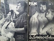 """LE FILM COMPLET 1957 N 646 """" LES SORCIERES DE SALEM """" avec YVES MONTAND."""