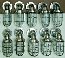 nautical marine ship Aluminum passage new light set of 10 pieces
