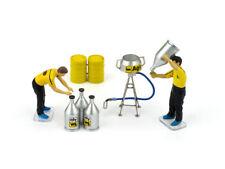 Set Benzine 2 Meccanici + Accessori BRUMM 1:43 F090