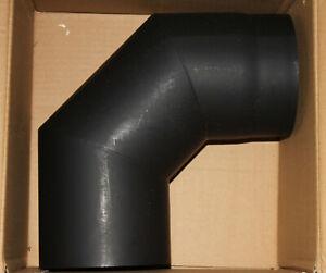coude 90°pour poêle acier laquéST12 diam150mm épais 2mm (jamais servi) Ofenseite