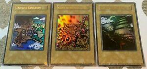 ☆ YUGIOH Duelist Kingdom Glory of Kings Hand, Set Sail for Kingdom Token Set ☆
