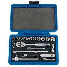 Draper Expert 20 Piece 1/4inch Square Drive Metric Socket Set 89731