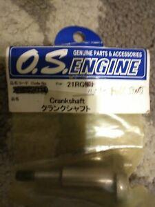 O.S. Engine 21RG Crankshaft Non Pull Start 23602000