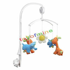 Mobile Holder Support Accroche De Jouets Bébé Lit + 12 Melodies Musical Boîte