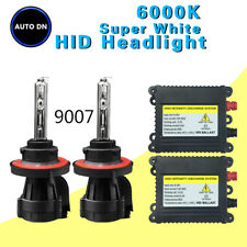 2x DBK HID headlight Kit 9007 HB5 Hi/Low Beams 6000K Replace Light Bulb Bi-Xenon