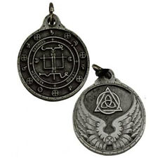 "NEW Archangel Gabriel Talisman Pewter 1.25"" Amulet Pendant Hermetic Angel Magic"