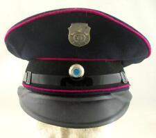 POST WW2 WWII GERMAN ARMY FEUERWEHR FIRE BRIGADE VISOR HAT BAYER #2
